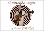 Carte Postale - Christophe Dupin - The Voice of Rock'n'Roll