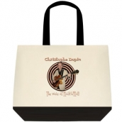 "Sac en toile ""Deluxe"" bicolore Christophe Dupin - The Voice of Rock'n'Roll"